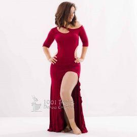 Vestido Bessel Danza del Vientre 2 colores a escoger