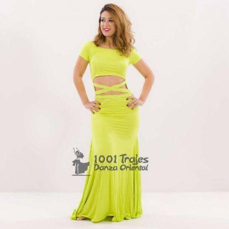 Traje Vestido Alya 4 colores a escoger