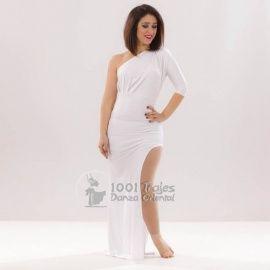Vestido Tarin Blanco Danza del Vientre