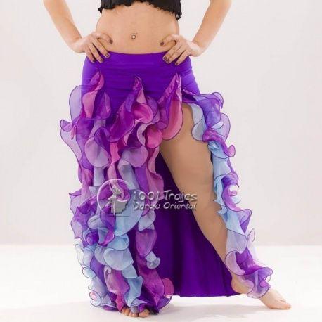 0751bf781 Falda danza del vientre, 1001 Trajes Danza Oriental