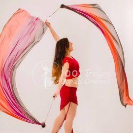 Veil Poi Imitación Seda - 4 colores a escoger